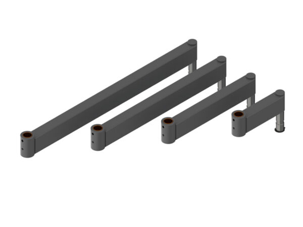 industrial ergonomic folding arm section