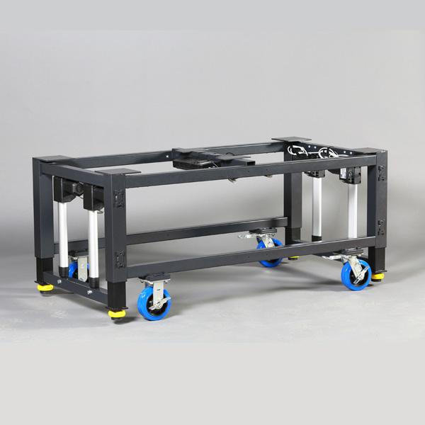 Modular Height Adjustable Frame For Machine Base Or