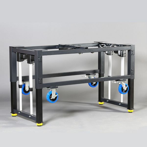 Modular Height Adjustable Frame For Machine Base Or
