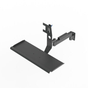 Industrial Flex 180 Monitor Mount w/ Integrated Keyboard Tray