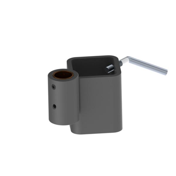 articulating arm pole bracket for 2 inch od pole