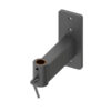 locking industrial wall bracket mount for articulating arm